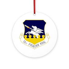 51st FW Round Ornament