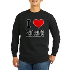 I Heart (Love) Shopping T