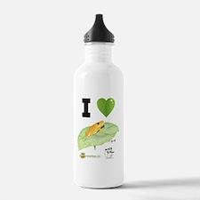 I heart Golden Mantell Water Bottle