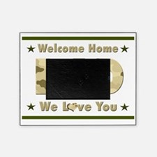 Welcome Home Dad Picture Frame