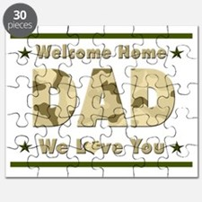 Welcome Home Dad Puzzle