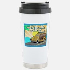 california dreamin Stainless Steel Travel Mug