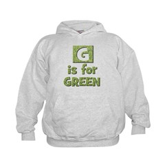 G is for Green Hoodie