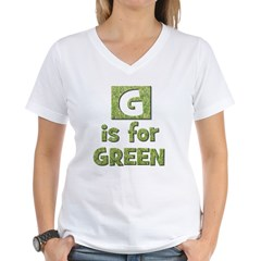 G is for Green Shirt