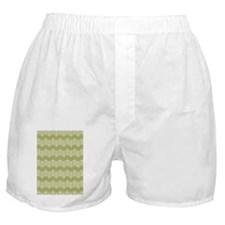 D60x84 loops zigzag white olive Boxer Shorts