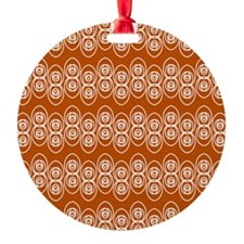 Loops KD White Spice Ornament
