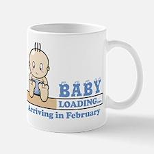 Arriving in February Mug