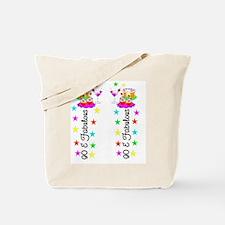 GLAMOROUS 90TH Tote Bag