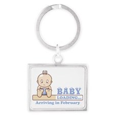 Arriving in February Landscape Keychain