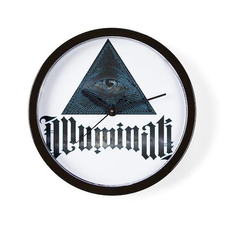 Illuminati Wall Clock By Admin Cp72354740