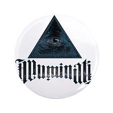 """Illuminati 3.5"""" Button"""