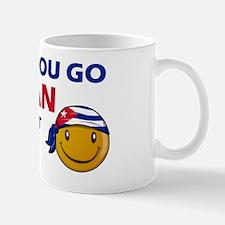 Once you go Cuban you cant go back Mug