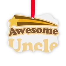Awesome Uncle Gift Ornament