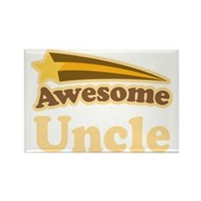 Awesome Uncle Gift Rectangle Magnet