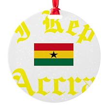 I Rep Accra capital Designs Ornament