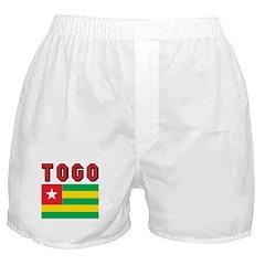 Togo Flag Boxer Shorts