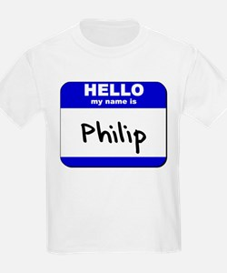 hello my name is philip T-Shirt