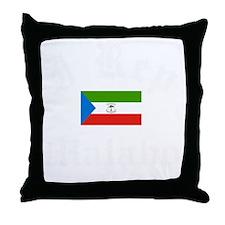 I Rep Malabo capital Designs Throw Pillow