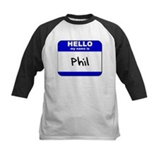 hello my name is phil Tee