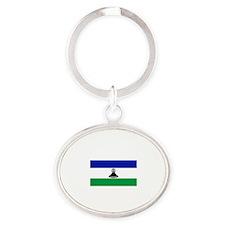 I Rep Maseru capital Designs Oval Keychain