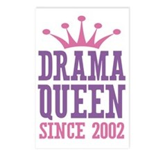 Drama Queen Since 2002 Postcards (Package of 8)