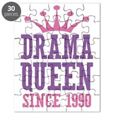 Drama Queen Since 1990 Puzzle