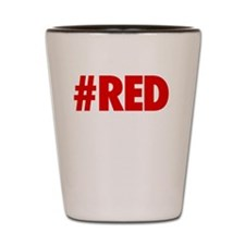 Red Is The New Black - BOLD Shot Glass