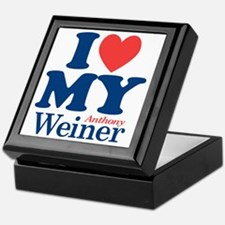 I Love My Weiner Keepsake Box
