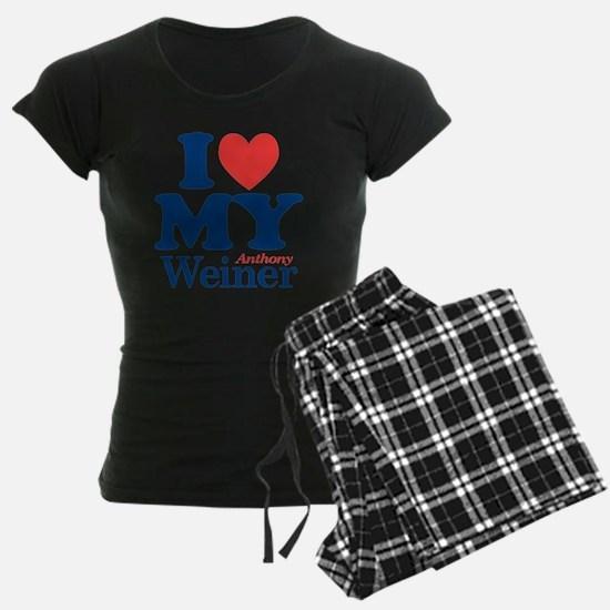 I Love My Weiner Pajamas