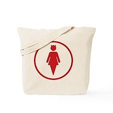 DevilGirl Design Tote Bag