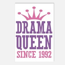 Drama Queen Since 1992 Postcards (Package of 8)