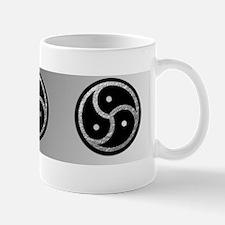BDSM Symbol - Silver Emblems Mug