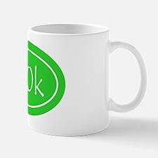 Lime 100k Oval Mug