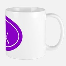 Purple 5k Oval Mug