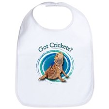 Bearded Dragon Got Crickets II Bib