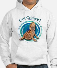 Bearded Dragon Got Crickets II Hoodie