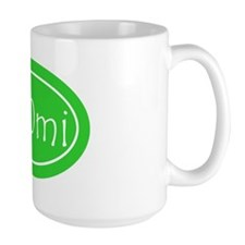 Lime 100 mi Oval Mug