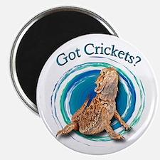 Bearded Dragon Got Crickets II Magnet