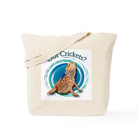 Bearded Dragon Got Crickets II Tote Bag
