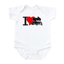 iHEARTsprints Infant Bodysuit