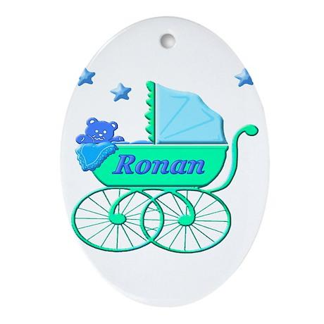 Logo Ronan Oval Ornament