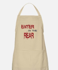 Enter in the Rear BBQ Apron