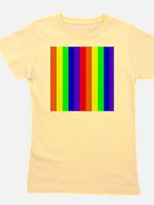 Rainbow Wondrous Spectrum Colorful 23 D Girl's Tee