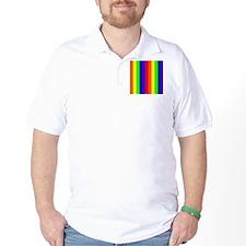 Rainbow Wondrous Spectrum Colorful 23 D T-Shirt