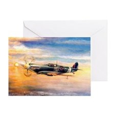 SPITFIRE ART Greeting Card