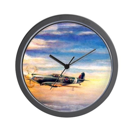 SPITFIRE ART Wall Clock