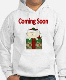 Coming soon with xmas baby Hoodie