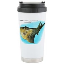 Bowmouth Guitarfish Travel Coffee Mug
