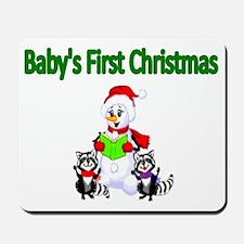 Babys first Christmas Mousepad