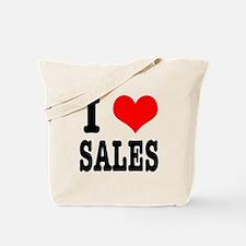 I Heart (Love) Sales Tote Bag